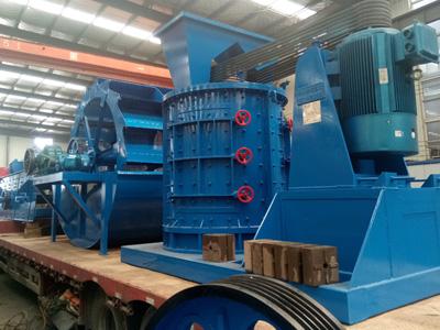 全套100吨硅石制砂生产线设备发货